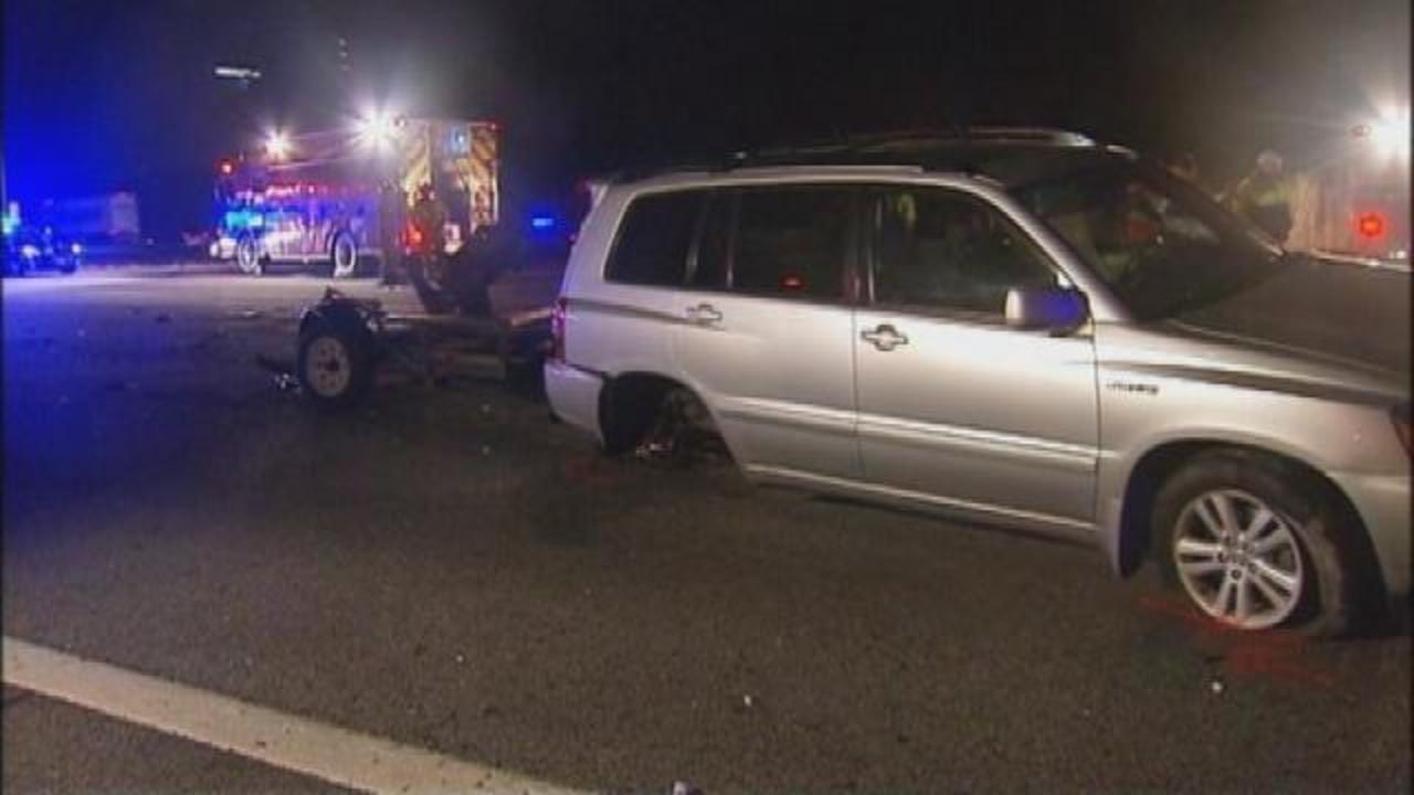I-75 Accident Scene | WSB-TV