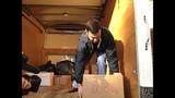Investigators load up truck with confiscated music, movies_1339240