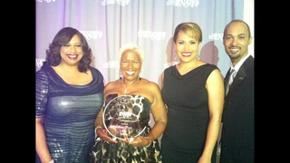 Monica Pearson honored by fellow journalists