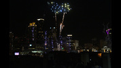 Here are some more fireworks from Centennial Olympic Park as seen from the rooftop of the Georgia Aquarium parking deck.