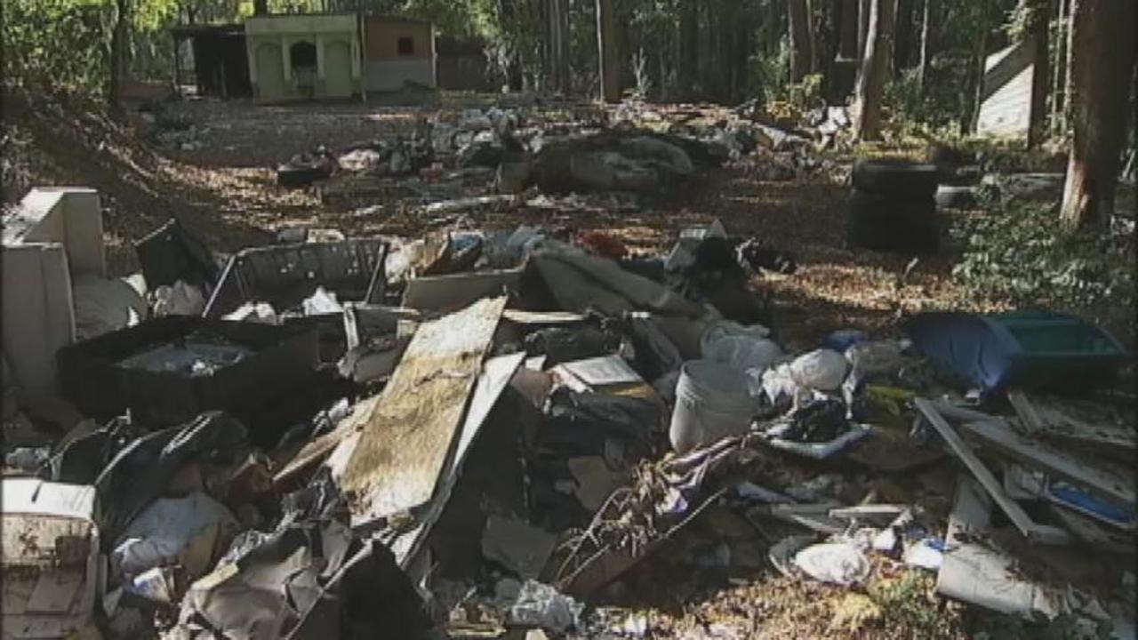 Clayton Co To Begin Cleanup Of Abandoned Mobile Home Park
