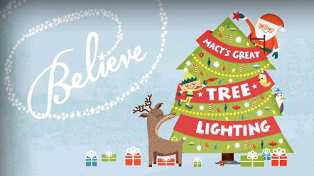 More than 100 000 people are expected to attend this year s Lighting of the  Macy s Great Tree at Lenox Square Mall  and more than 500 000 more will  watch  Macy s at Lenox Square Celebrates Magical 66th Annual Great Tree  . Macy Tree Lighting Chicago 2013. Home Design Ideas
