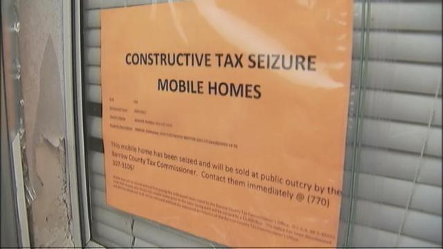 Barrow County Could Seize Dozens Of Homes In One Community Because Back Taxes