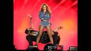 Beyonce performs on the opening night of the On The Run Tour at Sun Life Stadium on Wednesday, June 25, 2014, in Miami, Florida. (Photo by Jeff Daly/Invision for Parkwood Entertainment/AP Images)