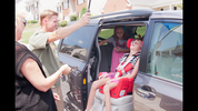 Carey family receives their new van