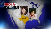 Nina Pham, 26, was hospitalized after catching Ebola while caring for Thomas Eric Duncan, the first person diagnosed with the virus in the U.S. He died last week. Medical records provided to The Associated Press by Duncan's family show that Pham helped care for him throughout his hospital stay, including the day he arrived in intensive care with diarrhea, abdominal pain, nausea and vomiting, and the day before he died. Amber Vinson was transported to Emory University Hospital October 15, 2014 to be treated for Ebola. Vinson was infected with the deadly disease after treating Duncan, who died of Ebola at a Dallas, Texas area hospital. Vinson then returned to Texas before being diagnosed on Frontier Airlines Flight 1143 from Cleveland to Dallas-Fort Worth with 132 other passengers, according to the CDC.