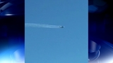 Video shot by a Channel 2 Action News viewer appears to show the plane dumping fuel upon return to the airport_6672810