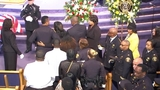 Officer's family at the funeral_6979842