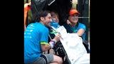 Harris, Rebecca Holbrook and Marjan Hoolbrook after the Publix Georgia Marathon's 5K._7011558