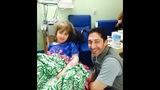 Rebecca Holbrook and nurse Gary Harris._7011748