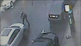 The video shows Washington arguing with the driver who never gets out of his SUV._7125439