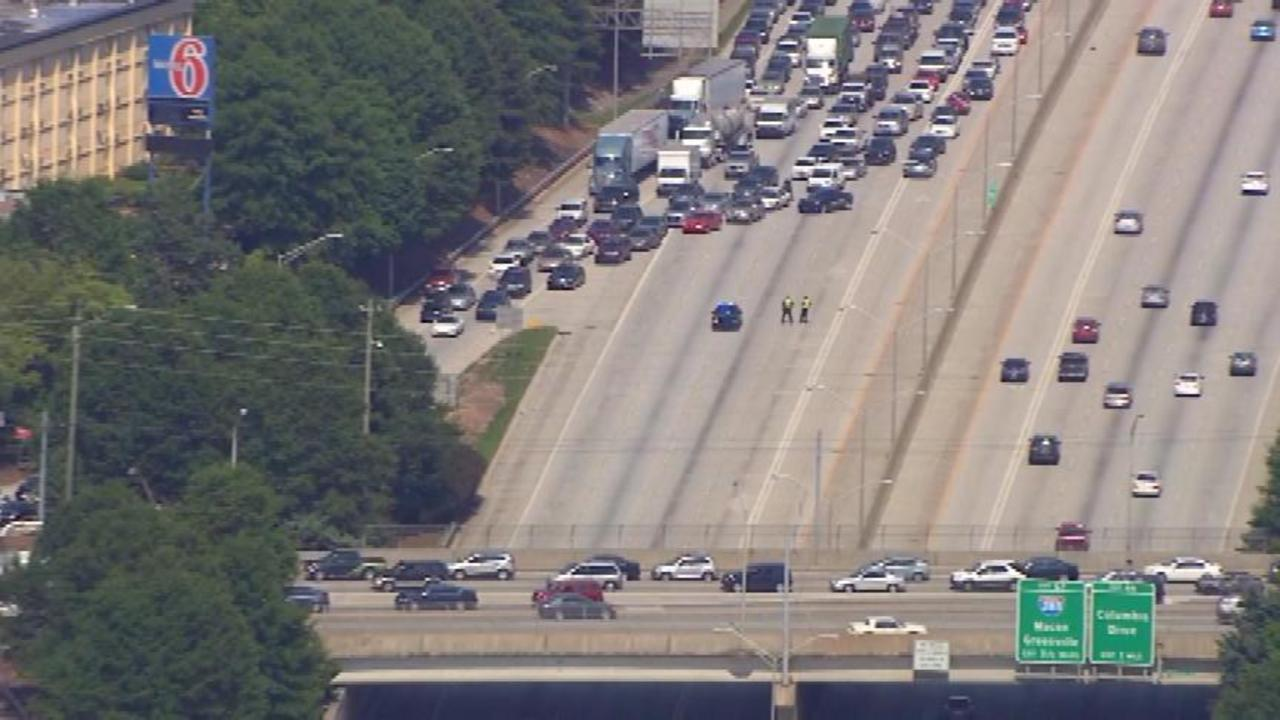 Traffic stop leads to shooting on I-20 west   WSB-TV