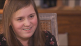 13-year-old Mary Morgan Collier sticks herself with a needle 6 or 7 times a day_7254173