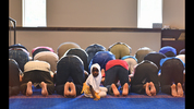 July 17, 2015 Chattanooga, TN: Afternoon prayers at the Islamic Society Of Greater Chattanooga Friday July 17, 2015, the mosque where the gunman, Mohammod Youssuf Abdulazee, attended Friday prayers. The mosque canceled celebrations for Eid al-Fitr, the Islamic holiday marking the end of the holy month of Ramadan. Members of the mosque were asked to attend the vigil at a local Baptist Church instead. BRANT SANDERLIN/BSANDERLIN@AJC.COM