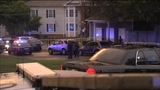 DeKalb police at the scene of the death _7858580