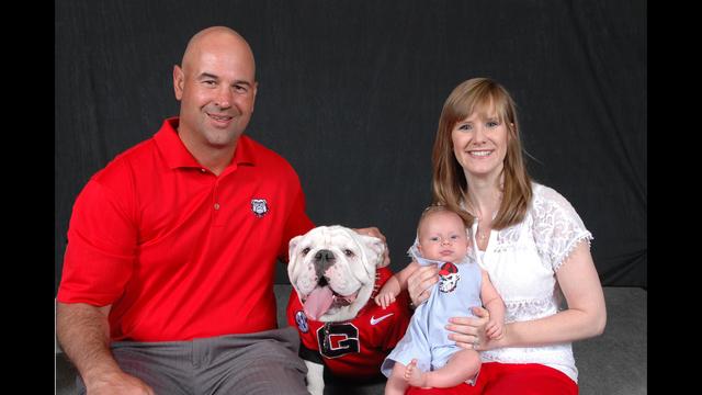 Jeremy Pruitt Wife >> UGA defensive coordinator juggles Bulldogs and baby | WSB-TV