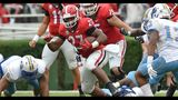Nick Chubb inches close to Herschel Walker's record_8202108