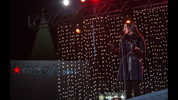 ordin Sparks performs on stage during the 68th annual Macy's Great Tree lighting celebration at Lenox Square Mall, Sunday, Nov. 22, 2015, in Atlanta. Thousands gathered for the annual event which included performances by Jordin Sparks, Danny Gokey, Mercy Me, and many more. BRANDEN CAMP/SPECIAL