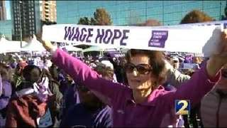 Purple Stride event aims to end pancreatic cancer