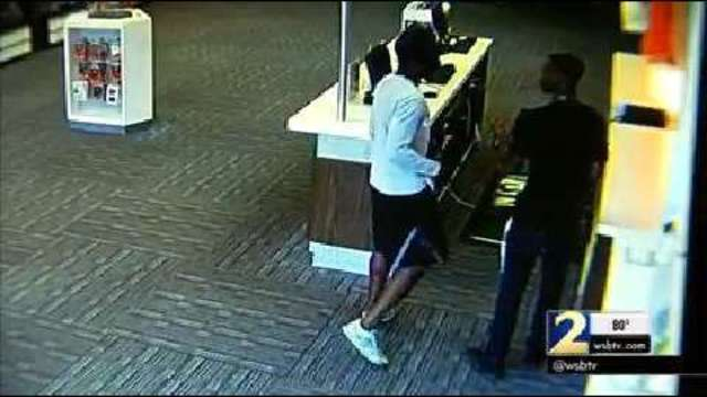 Dekalb Police Search For 2 Men Who Robbed At T Store Wsb Tv