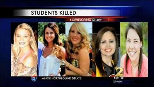 Lawsuits filed in crash that killed 5 Ga  Southern nursing