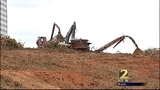 Cobb County moving quickly, clearing land for Braves stadium
