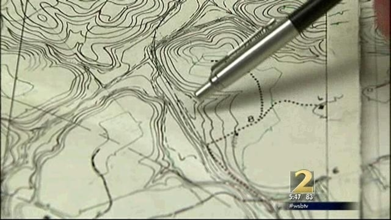 Newly discovered Lake Lanier maps uncover submerged