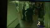 Video shows nurse being thrown to the ground