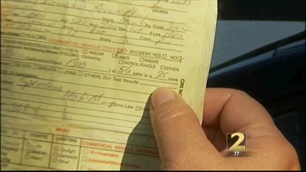 Woman gets 2 speeding tickets on same road, at same time