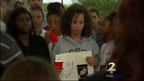 Vigil held for kidnapped teen