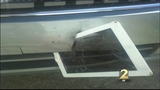 Woman finds iPad embedded in bumper
