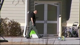 Woman hiding with kids shoots intruder