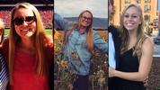 Kayla Canedo, 19, Christina Semeria, 19, and Brittany Feldman, 20 (Not pictured: Halle Scott, 19)