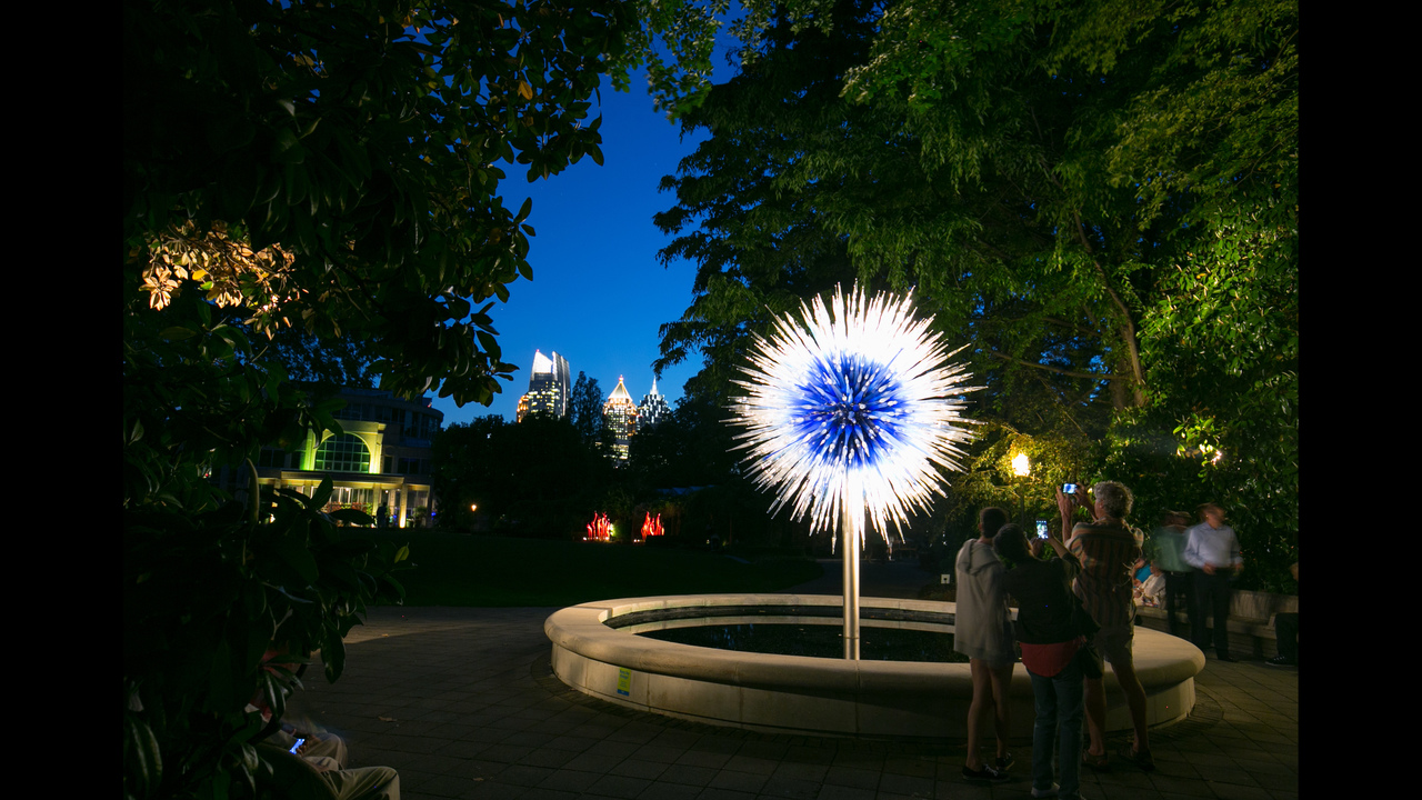 Chihuly In The Garden At Atlanta Botanical Garden   (1/97)