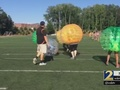 Teen suffers brain injury while playing bubble soccer