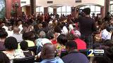 Local town hall meeting draws hundreds in discussion