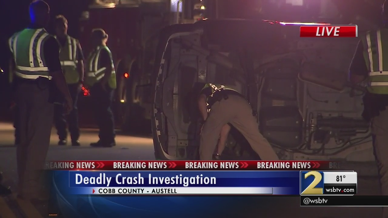 1 killed in car vs  SUV accident in Austell | WSB-TV