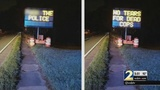 Cobb neighbors outraged by hacked highway sign
