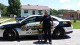 Joshua Collins meets his local police department.