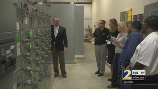 Local landfills convert methane gas into electricity