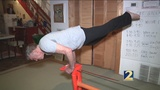 85-year old acrobat bends expectations