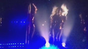 Beyonce paying tribute to Shawty Lo in Atlanta.