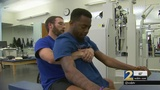 Paralyzed Southern University football player able to move hips again
