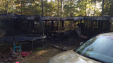 Scene of the deadly fire in Chattooga County fire. (Credit: Office of Insurance and Safety Fire Commissioner)