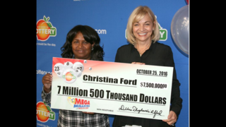 Georgia woman claims $7.5 million Mega Millions prize