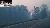 Rock Mountain Fire in Rabun County grows to more than 4,100 acres