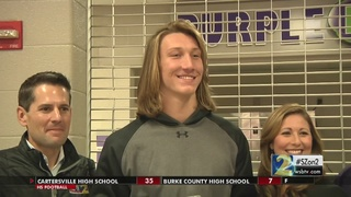 Trevor Lawrence (Cartersville): 2016 Athlete of the Year