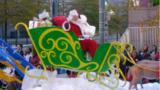 Here comes Santa Claus!
