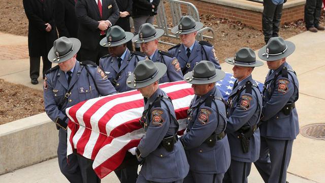 funeral held for slain americus police officer killed in line of