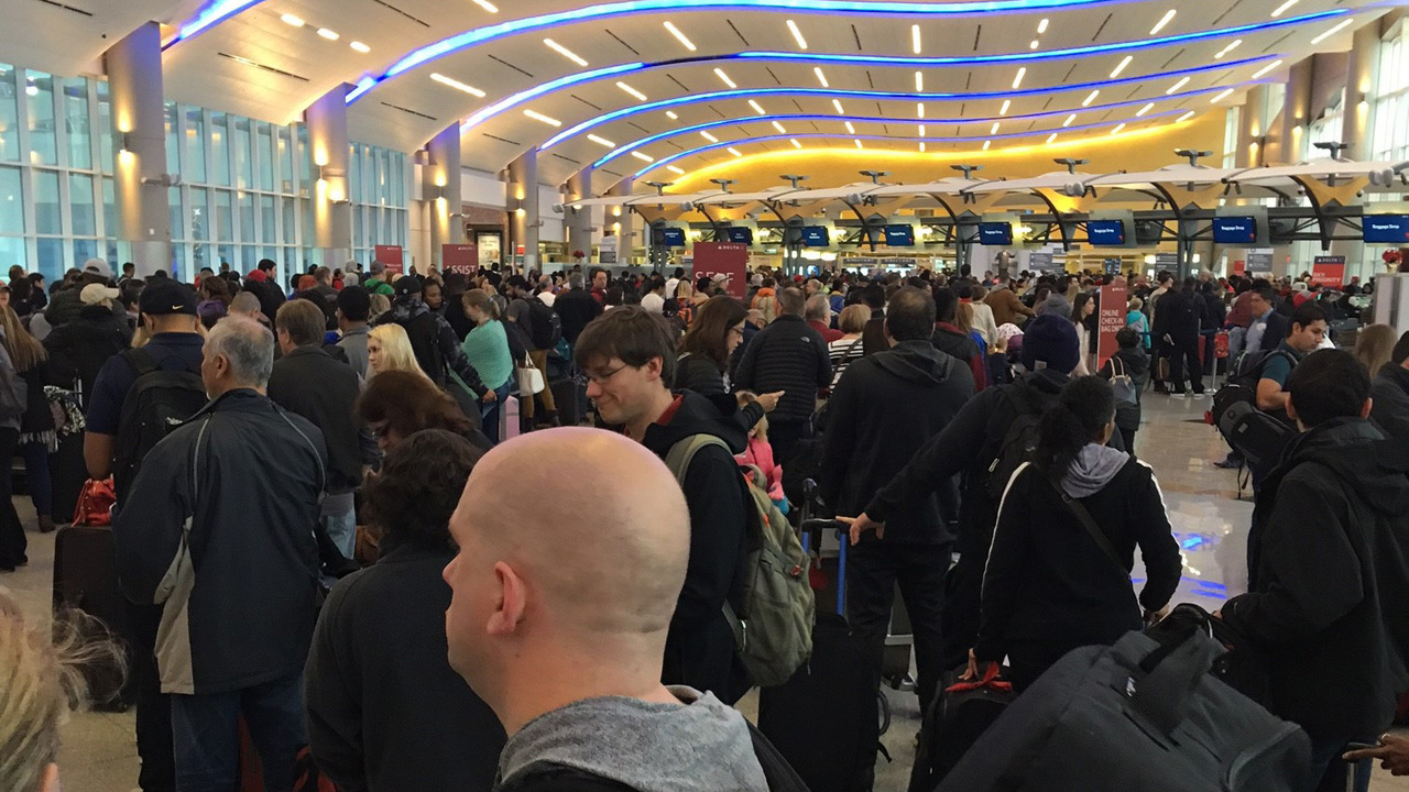HARTSFIELD-JACKSON ATLANTA INTERNATIONAL AIRPORT: Tired of lines at Atlanta's airport? The security checkpoint is expanding